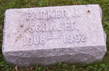 SCHAFER, PARKER J. - Stark County, Ohio   PARKER J. SCHAFER - Ohio Gravestone Photos