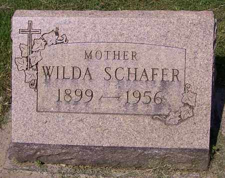 SCHAFER, WILDA - Stark County, Ohio | WILDA SCHAFER - Ohio Gravestone Photos