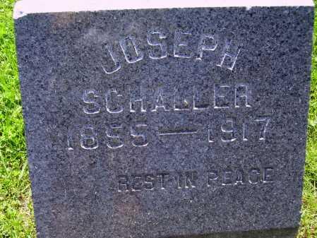 SCHALLER, JOSEPH P. - Stark County, Ohio | JOSEPH P. SCHALLER - Ohio Gravestone Photos