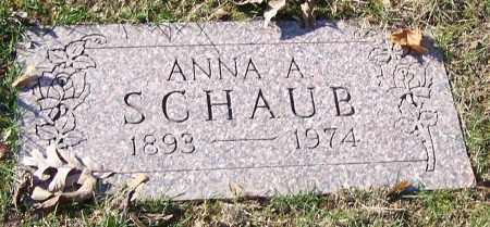 SCHAUB, ANNA A. - Stark County, Ohio | ANNA A. SCHAUB - Ohio Gravestone Photos