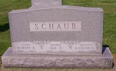 SCHAUB, ROBERT R. - Stark County, Ohio | ROBERT R. SCHAUB - Ohio Gravestone Photos