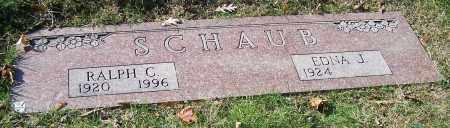 SCHAUB, EDNA J. - Stark County, Ohio | EDNA J. SCHAUB - Ohio Gravestone Photos