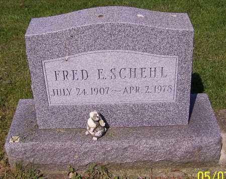 SCHEHL, FRED E. - Stark County, Ohio | FRED E. SCHEHL - Ohio Gravestone Photos