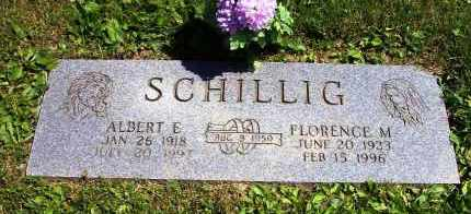 SCHILLIG, ALBERT E. - Stark County, Ohio | ALBERT E. SCHILLIG - Ohio Gravestone Photos