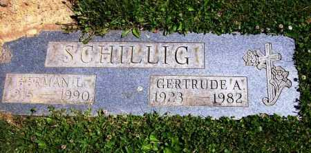 SMITH SCHILLIG, GERTRUDE A. - Stark County, Ohio | GERTRUDE A. SMITH SCHILLIG - Ohio Gravestone Photos