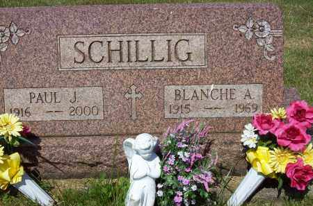 FRANK SCHILLIG, BLANCHE A. - Stark County, Ohio | BLANCHE A. FRANK SCHILLIG - Ohio Gravestone Photos
