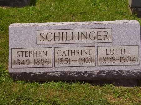SCHILLINGER, CATHRINE - Stark County, Ohio | CATHRINE SCHILLINGER - Ohio Gravestone Photos