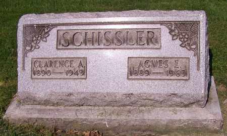 SCHISSLER, AGNES E. - Stark County, Ohio | AGNES E. SCHISSLER - Ohio Gravestone Photos