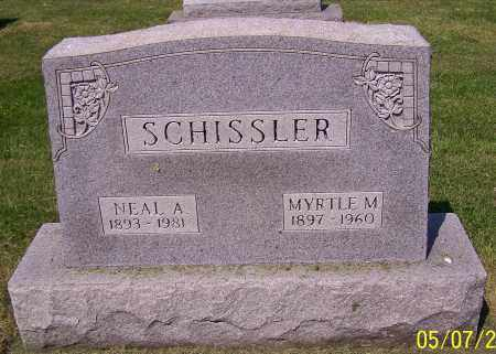 SCHISSLER, NEAL A. - Stark County, Ohio | NEAL A. SCHISSLER - Ohio Gravestone Photos