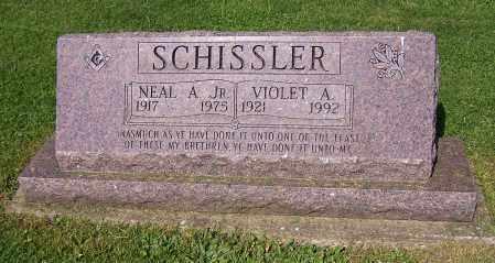 SCHISSLER, NEAL A. (JR) - Stark County, Ohio | NEAL A. (JR) SCHISSLER - Ohio Gravestone Photos