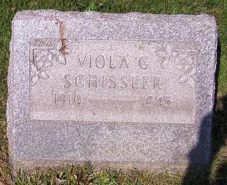 SCHISSLER, VIOLA G. - Stark County, Ohio | VIOLA G. SCHISSLER - Ohio Gravestone Photos