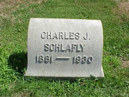 SCHLAFLY, CHARLES J. - Stark County, Ohio | CHARLES J. SCHLAFLY - Ohio Gravestone Photos