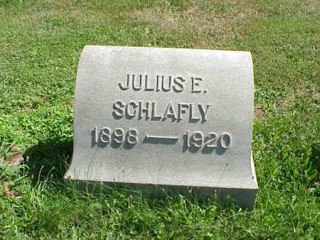 SCHLAFLY, JULIUS E. - Stark County, Ohio | JULIUS E. SCHLAFLY - Ohio Gravestone Photos