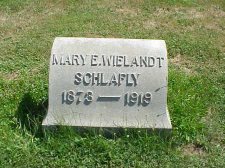 SCHLAFLY, MARY - Stark County, Ohio | MARY SCHLAFLY - Ohio Gravestone Photos