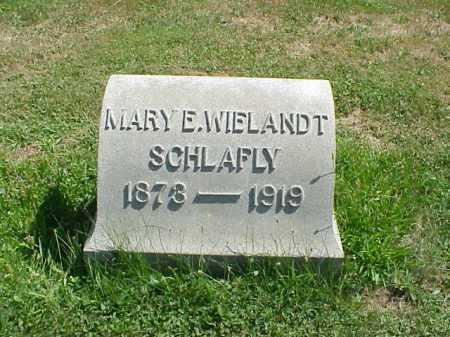WIELANDT SCHLAFLY, MARY - Stark County, Ohio | MARY WIELANDT SCHLAFLY - Ohio Gravestone Photos