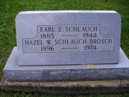 SCHLAUGH, EARL E. - Stark County, Ohio | EARL E. SCHLAUGH - Ohio Gravestone Photos