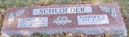 SCHLOEDER, BARBARA J. - Stark County, Ohio | BARBARA J. SCHLOEDER - Ohio Gravestone Photos