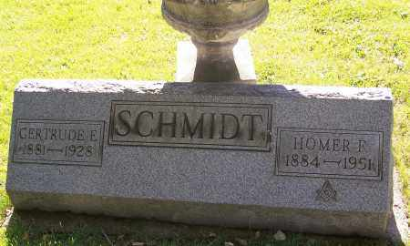 SCHMIDT, HOMER F. - Stark County, Ohio | HOMER F. SCHMIDT - Ohio Gravestone Photos