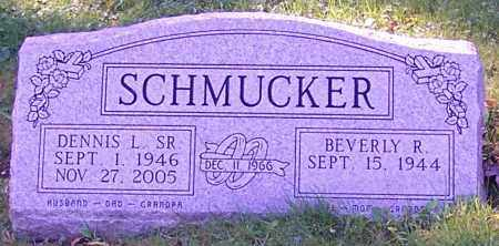 SCHMUCKER, DENNIS L. SR. - Stark County, Ohio | DENNIS L. SR. SCHMUCKER - Ohio Gravestone Photos