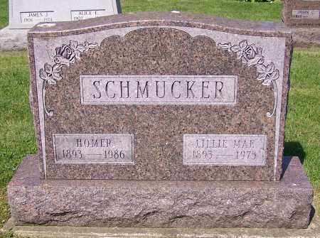 SCHMUCKER, HOMER - Stark County, Ohio | HOMER SCHMUCKER - Ohio Gravestone Photos