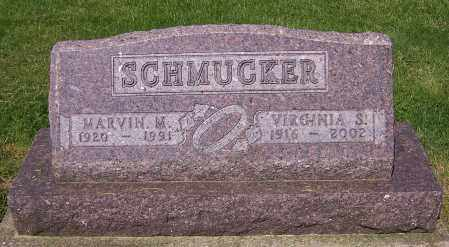 SCHMUCKER, VIRGINIA S. - Stark County, Ohio | VIRGINIA S. SCHMUCKER - Ohio Gravestone Photos