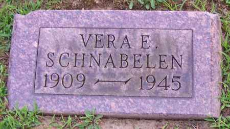 BLACK SCHNABELEN, VERA E. - Stark County, Ohio | VERA E. BLACK SCHNABELEN - Ohio Gravestone Photos