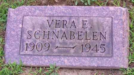 SCHNABELEN, VERA E. - Stark County, Ohio | VERA E. SCHNABELEN - Ohio Gravestone Photos