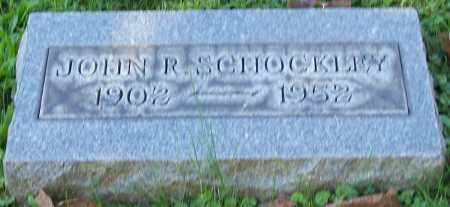 SCHOCKLEY, JOHN R. - Stark County, Ohio | JOHN R. SCHOCKLEY - Ohio Gravestone Photos