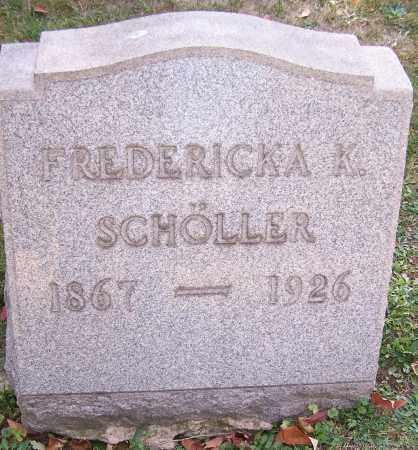 SCHOLLER, FREDERICKA K. - Stark County, Ohio | FREDERICKA K. SCHOLLER - Ohio Gravestone Photos