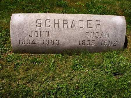 SCHRADER, JOHN - Stark County, Ohio | JOHN SCHRADER - Ohio Gravestone Photos