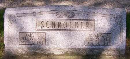 SCHROEDER, KARL H. - Stark County, Ohio | KARL H. SCHROEDER - Ohio Gravestone Photos
