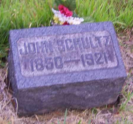 SCHULTZ, JOHN - Stark County, Ohio   JOHN SCHULTZ - Ohio Gravestone Photos