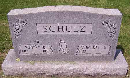SCHULZ, ROBERT R. - Stark County, Ohio | ROBERT R. SCHULZ - Ohio Gravestone Photos