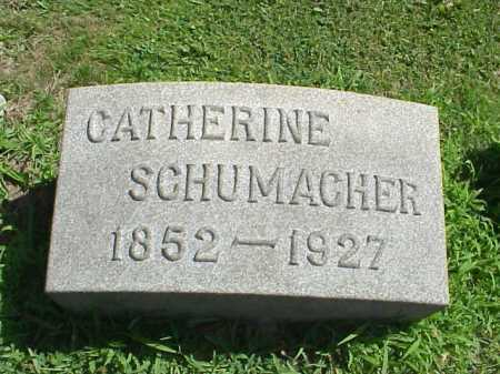 SHOEMAKER SCHUMACHER, CATHERINE - Stark County, Ohio | CATHERINE SHOEMAKER SCHUMACHER - Ohio Gravestone Photos