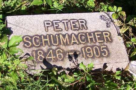SCHUMACHER, PETER - Stark County, Ohio | PETER SCHUMACHER - Ohio Gravestone Photos