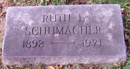 SCHUMACHER, RUTH L. - Stark County, Ohio | RUTH L. SCHUMACHER - Ohio Gravestone Photos