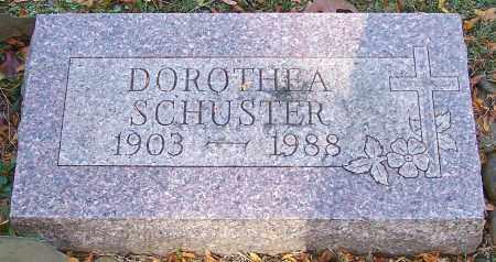 SCHUSTER, DOROTHEA - Stark County, Ohio | DOROTHEA SCHUSTER - Ohio Gravestone Photos