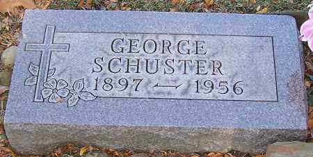 SCHUSTER, GEORGE - Stark County, Ohio | GEORGE SCHUSTER - Ohio Gravestone Photos