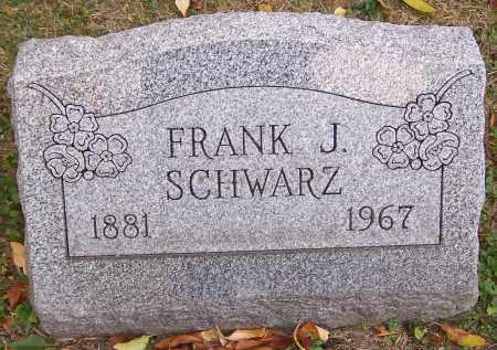 SCHWARZ, FRANK J. - Stark County, Ohio | FRANK J. SCHWARZ - Ohio Gravestone Photos