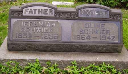 SCHWIER, OLIVE - Stark County, Ohio | OLIVE SCHWIER - Ohio Gravestone Photos