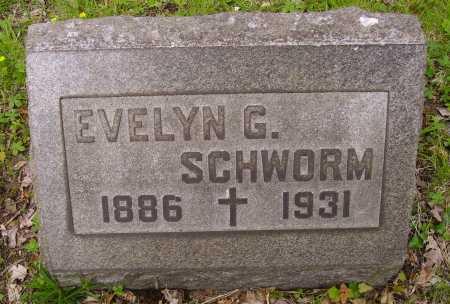 SCHWORM, EVELYN G. - Stark County, Ohio | EVELYN G. SCHWORM - Ohio Gravestone Photos