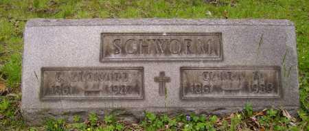 SCHWORM, G. LEONARD - Stark County, Ohio | G. LEONARD SCHWORM - Ohio Gravestone Photos