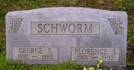 SCHWORM, GEORGE S. - Stark County, Ohio | GEORGE S. SCHWORM - Ohio Gravestone Photos