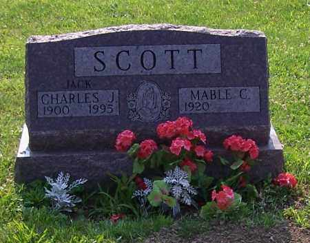 SCOTT, CHARLES J. - Stark County, Ohio | CHARLES J. SCOTT - Ohio Gravestone Photos