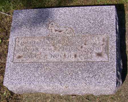 SCOTT, LARRY DALE - Stark County, Ohio | LARRY DALE SCOTT - Ohio Gravestone Photos