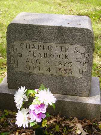 SEABROOK, CHARLOTTE S. - Stark County, Ohio | CHARLOTTE S. SEABROOK - Ohio Gravestone Photos
