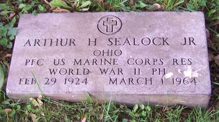 SEALOCK, ARTHUR H. (JR)  (MIL) - Stark County, Ohio | ARTHUR H. (JR)  (MIL) SEALOCK - Ohio Gravestone Photos