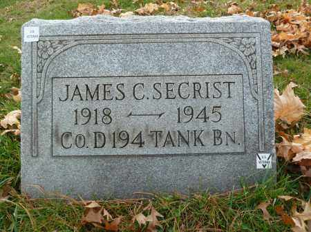 SECRIST, JAMES C - Stark County, Ohio | JAMES C SECRIST - Ohio Gravestone Photos