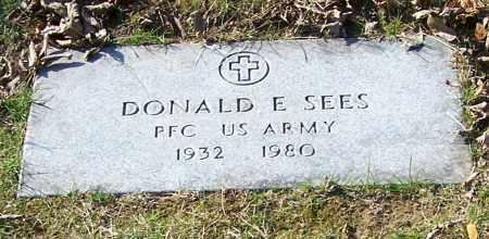 SEES, DONALD E. - Stark County, Ohio | DONALD E. SEES - Ohio Gravestone Photos