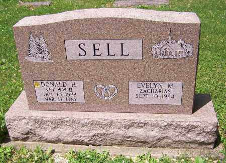 SELL, DONALD H. - Stark County, Ohio | DONALD H. SELL - Ohio Gravestone Photos